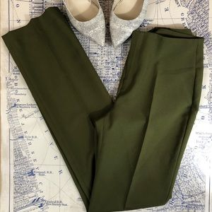 Zara Basic Green Trousers